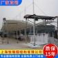 上海膜结构车棚厂家 加工制作汽车停车蓬 安装搭建户外轿车停车棚